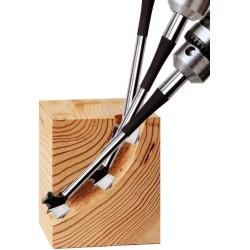 Punta 3D legno mm.18